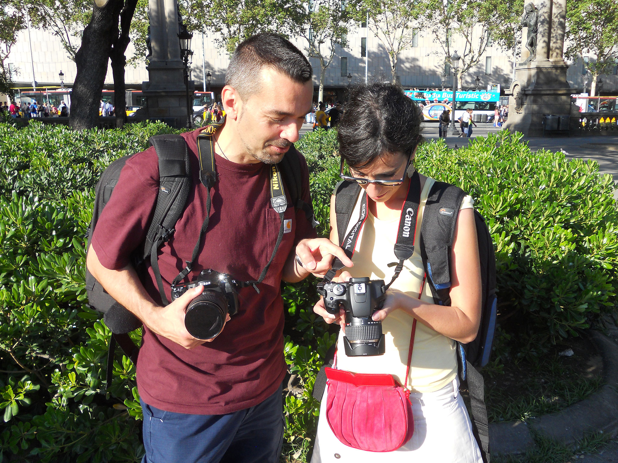Photography class in Valencia